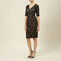 Kaliko - Embellished lace dress