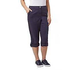 Dash - Roll up trousers regular navy
