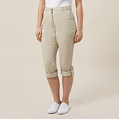 Dash - Roll up trousers regular stone