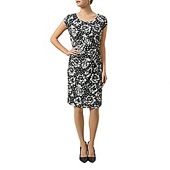 Precis Petite - Floral And Spot Jersey Dress