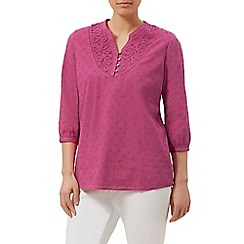 Dash - Pink embroidered blouse