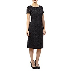 Precis Petite - Black lace dress