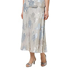Jacques Vert - Shadow floral devore skirt