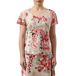 Jacques Vert - Devore floral blouse