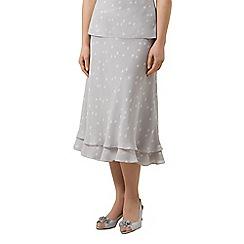 Jacques Vert - Spot chiffon skirt