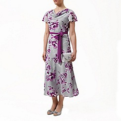 Jacques Vert - Peony flower print soft dress