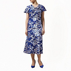 Jacques Vert - Falling petals devore dress
