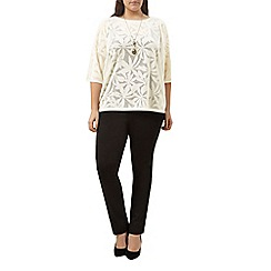 Windsmoor - Ivory pointelle jumper