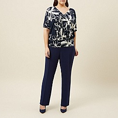 Windsmoor - Cold shoulder flower top