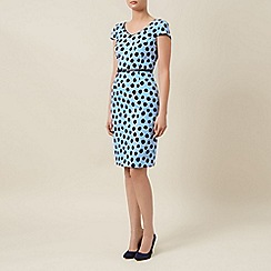 Planet - Spot belted shift dress