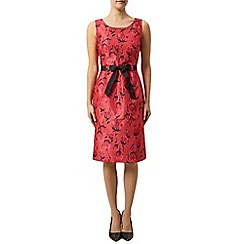 Precis Petite - Tulip print belted shift dress