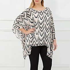 Windsmoor - Ivory Fringed Follies Kaftan