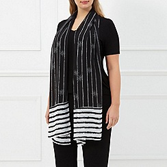 Windsmoor - Ivory Jewel Stripe Scarf