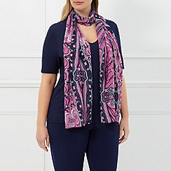 Windsmoor - Pink Draped Pearls Scarf