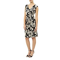Kaliko - Floral printed lace dress