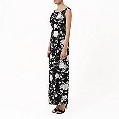 Kaliko - Mono floral maxi dress
