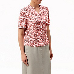 Eastex - Minny dotty leaf blouse