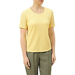Eastex - Round neck pique top