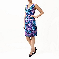 Planet - Hydrangea print dress