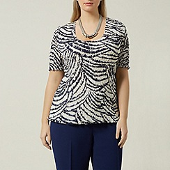 Windsmoor - Animal abstract print blouse
