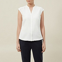Planet - Ivory cap sleeve blouse