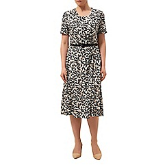 Eastex - Dotty layered leaf dress