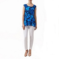 Kaliko - Printed tunic blouse