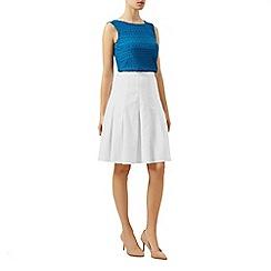 Kaliko - Linen flippy skirt