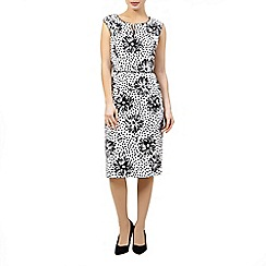 Precis Petite - Mono print shift dress