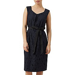 Precis Petite - Lace a-line dress with belt
