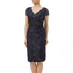 Jacques Vert - Mid length lace evening dress