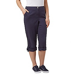 Dash - Roll up trouser navy petite