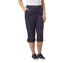Dash - Roll up trouser navy long