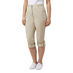 Dash - Roll up trouser stone petite