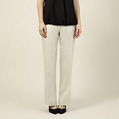 Precis Petite - Natural linen trouser
