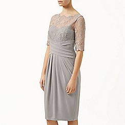 Kaliko - Lace and jersey dress