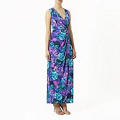 Planet - Print maxi dress