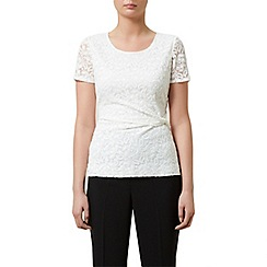 Kaliko - Twist detail lace top