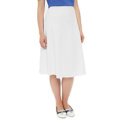 Dash - Linen knee length skirt