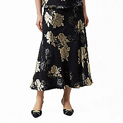 Jacques Vert - Floral devore print skirt