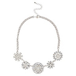 Kaliko - Flower statement necklace