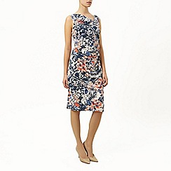 Kaliko - Floral sleeveless detail dress