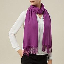 Planet - Pink plain scarf