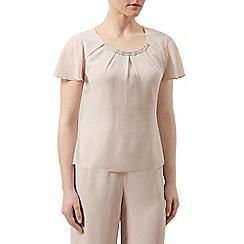 Jacques Vert - Bead trim angel sleeve blouse