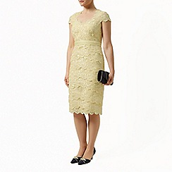 Jacques Vert - Sweetheart lace tiered dress