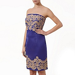 Kaliko - Embroidered bustier dress
