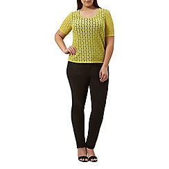 Windsmoor - Citrus floral lace top