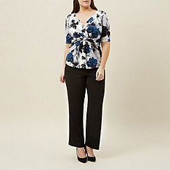 Windsmoor - Royal blue printed top