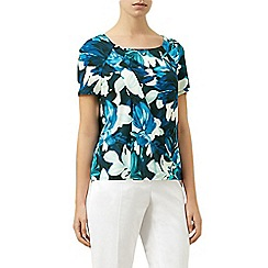 Planet - Multi floral print wrap top