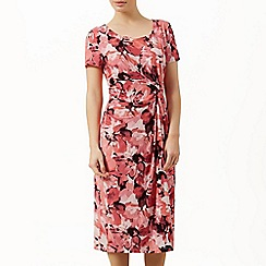 Precis Petite - Short sleeve floral dress